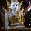 the large sitting Buddha at Ngahtatgyi Paya