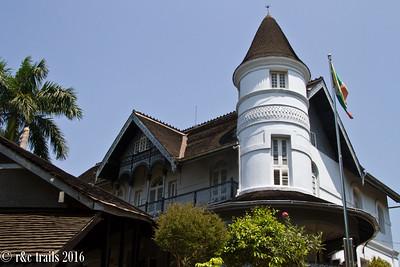 Aung San's last residence
