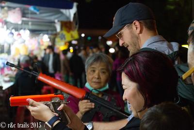 'wait for grandma to show you how to load the gun'  -- matt