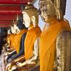 buddhas at wat pho