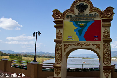 golden triangle -  where thailand, myanmar and laos intersect. from the thai side.
