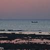 boaters at sunset at khlong khong