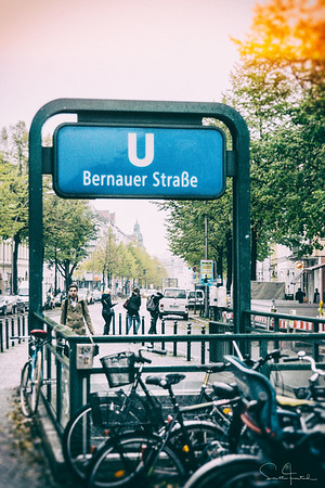 Bernauer Straße U Bahn