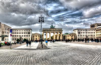 Pariser Platz u. Brandenburger Tor