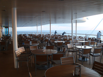 Oceanview Cafe Outdoor Seating