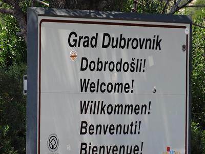 Welcome To Dubrovnik, Croatia