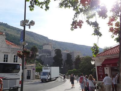 Old Town in Dubrovnik, Croatia
