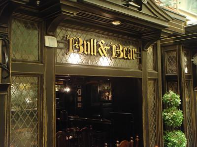 Bull and Bear Pub on the Royal Promenade