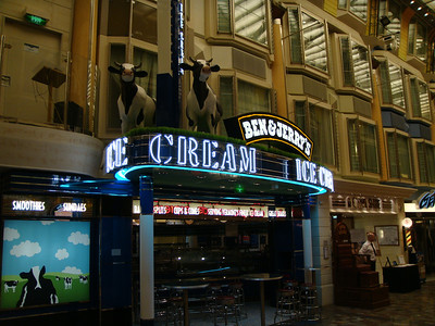Ben and Jerry Ice Cream on the Royal Promenade