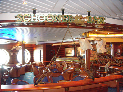 Schooner Bar - Deck Four Forward