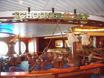Schooner Bar - Deck Four Forward