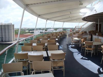 Windjammer Outdoor Seating Area