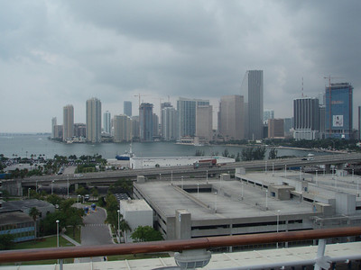 View of downtown Miami from the Liberty