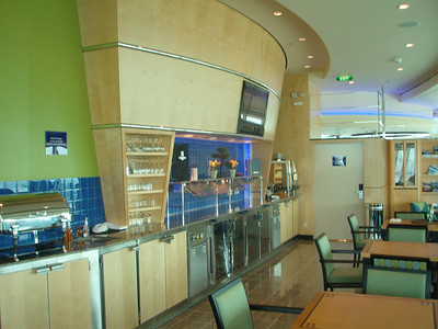 Diamond Lounge located in the Viking Crown area on deck 14