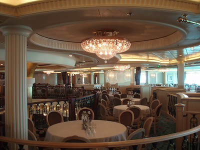 Main Dining Room - Spans Three Decks