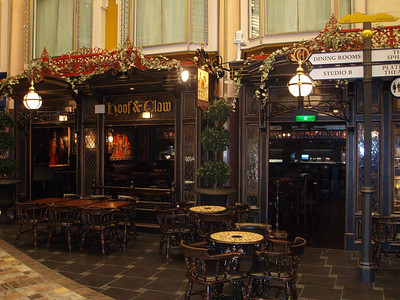 Hoof and Claw Pub on the Royal Promenade