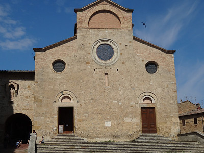 Collegiate Church of San Gimignano - Completed in 1468