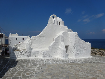 Paraportiani of Mykonos - This church is the oldest of the over 400 churches on the island and dates back to the 15th century.