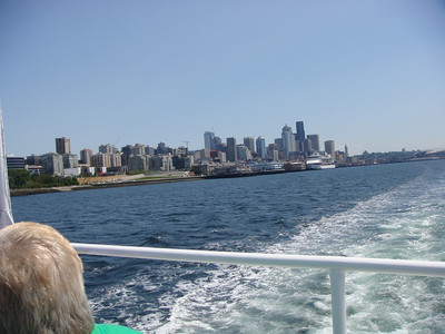 Argosy Boat Tour around Seattle