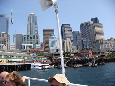 Boat Tour. Seattle in background