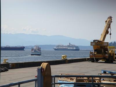 HAL ship departing Seattle