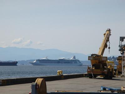 Rhapsody departing Seattle