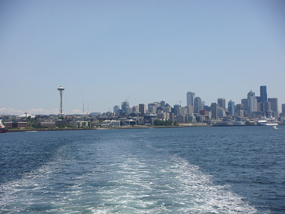 Seattle in the background