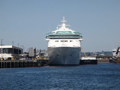 Rhapsody of the Seas in Seattle, Washington