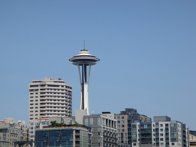 Seattle from boat tour.