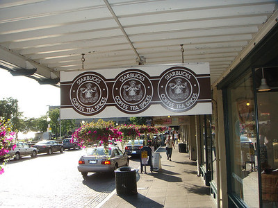 The Original Starbucks. This is where it all began.