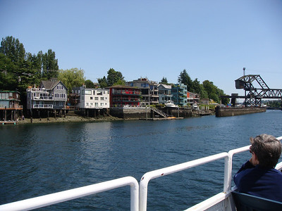 Lake Union in Seattle