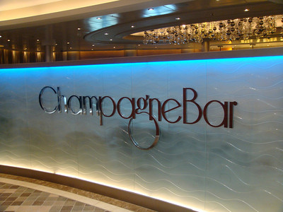 Champagne Bar on the Royal Promenade