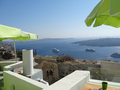 Santorini was the most beautiful island on the trip. Rates right up there with Venice.