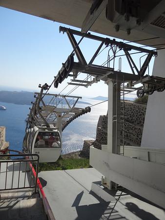 Santorini Tram