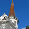 the steeple at Grace Episcopal in Ocala