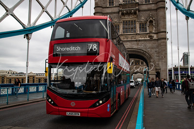 Double Decker Across The Thames