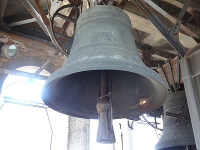 One of the many bells of the Campanile