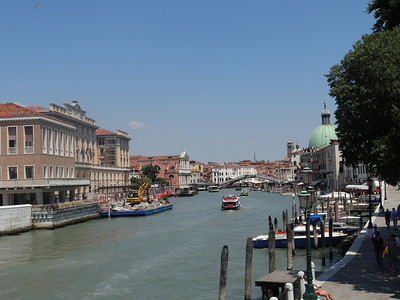 Grand Canal near the Piazzle Roma