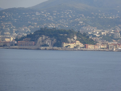 Nice, France from the sea