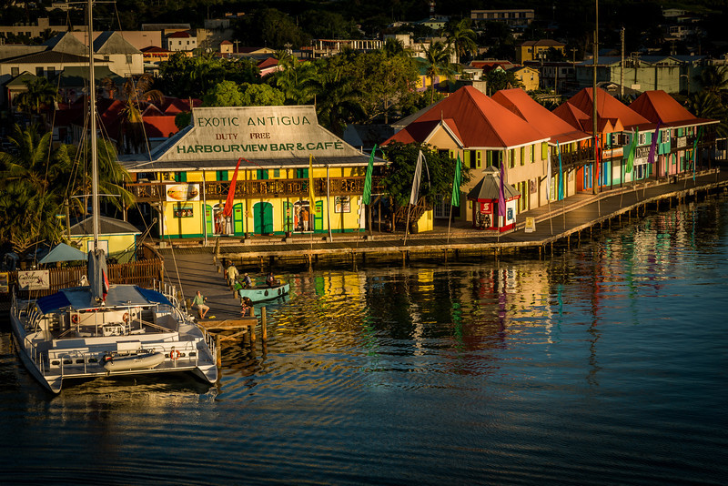 Late Afternoon In Antigua