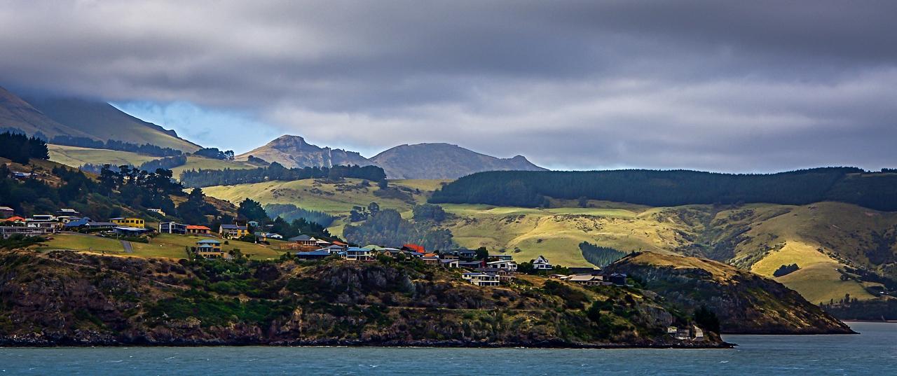Coastline near Dunedin, New Zealand