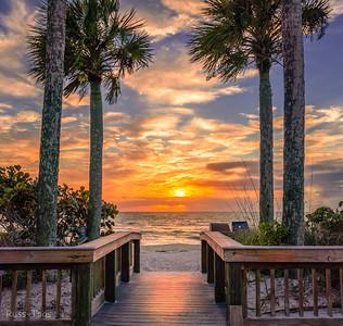 Bonita Springs Beach Sunset