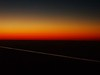 Sunset at 35,000ft captured whilst flying over France