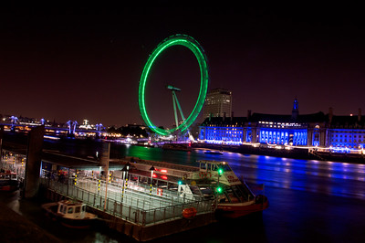 London Eye, Westminster, London, UK