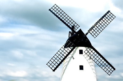 A HDR Shot of Lytham Windmill, Lytham St Annes, UK