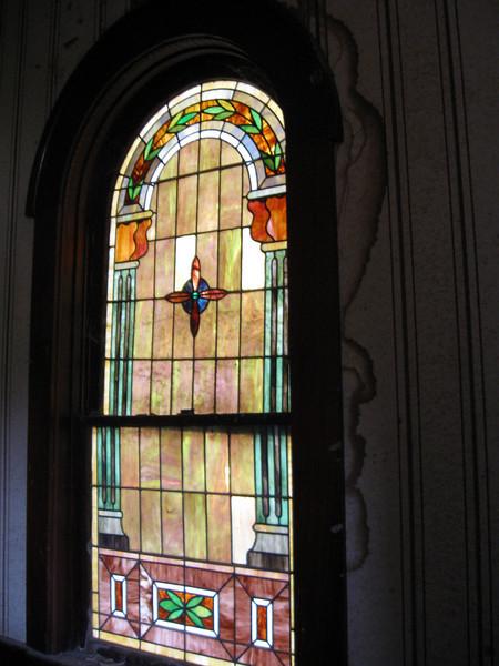 Interior, First Presbyterian Church, Teague, TX