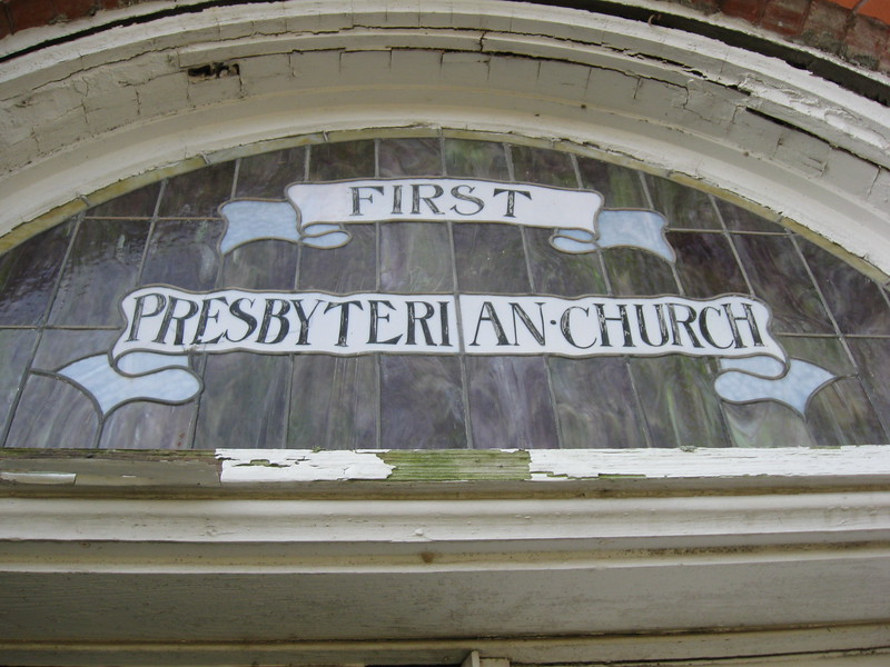 Exterior, First Presbyterian Church, Teague, TX