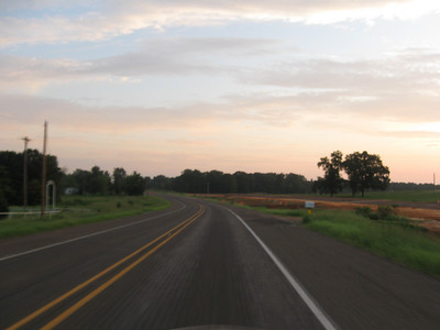 On the road: riding shots