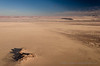 Ballooning over the great expanse of the Namib