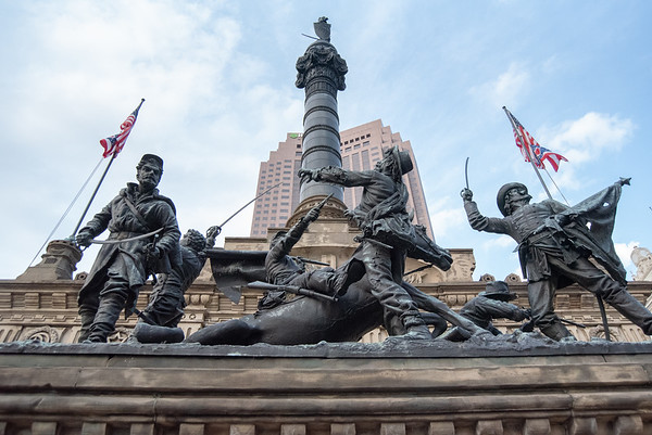 Solider's & Sailor' s Monument - Cleveland, OH; Public Square.
